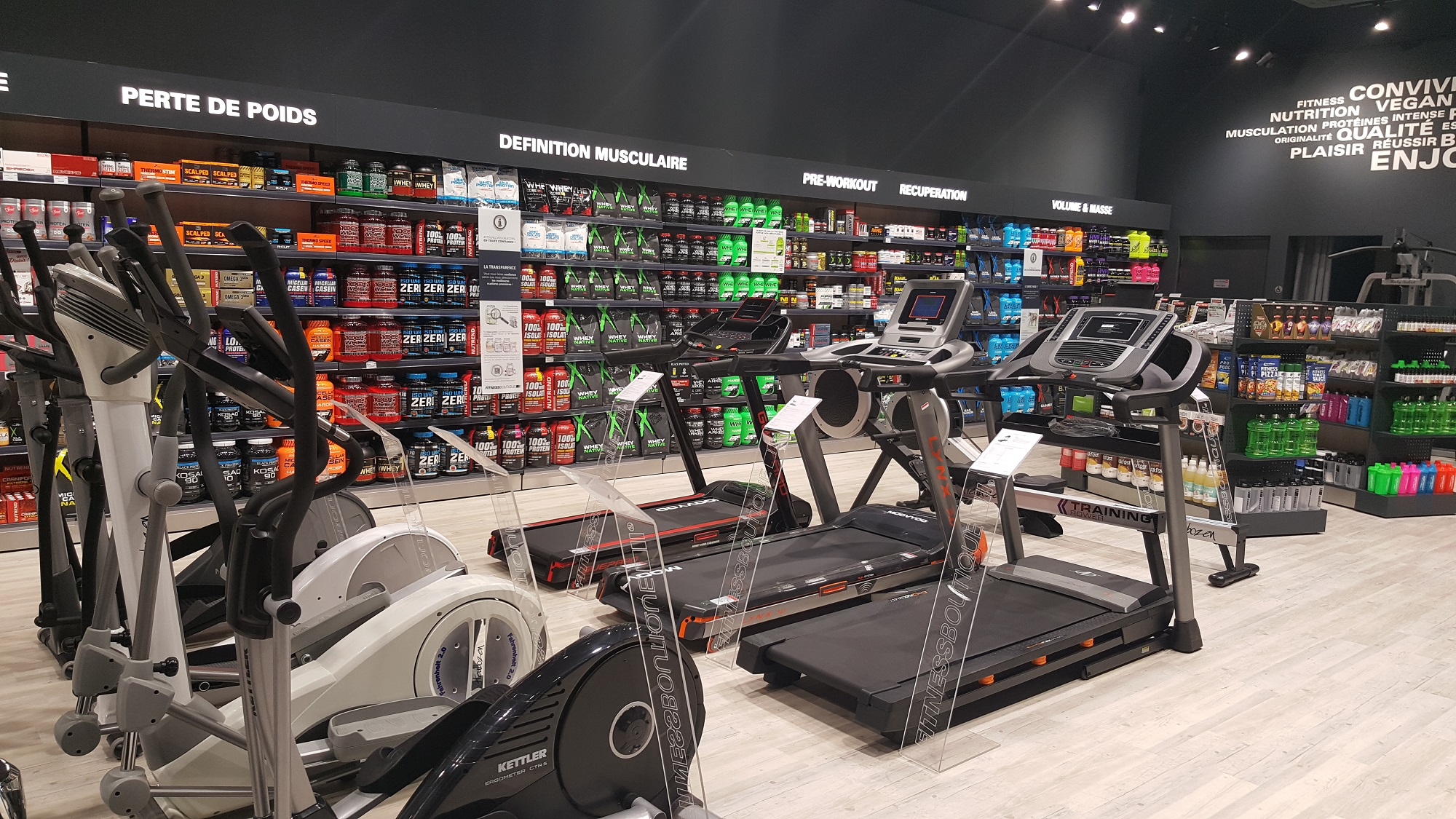 magasin musculation
